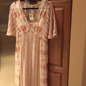 Lucky brand maxi dress new with tag size M